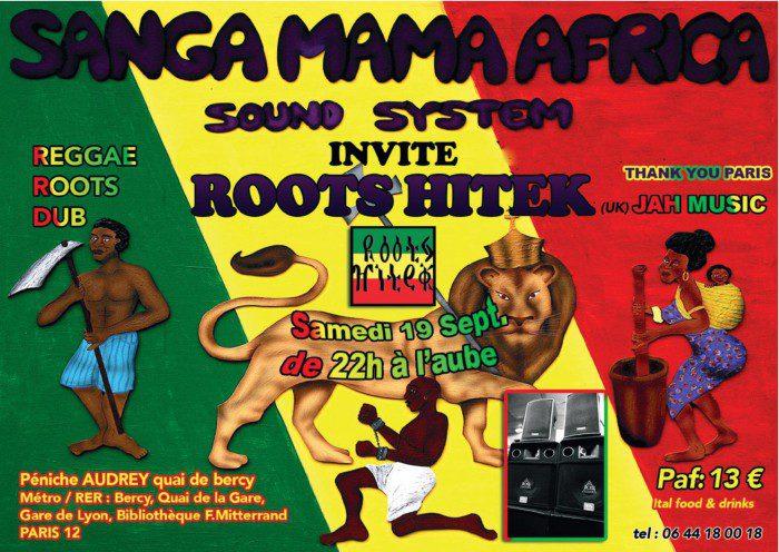 Sanga Mama Africa invite Roots Hitek