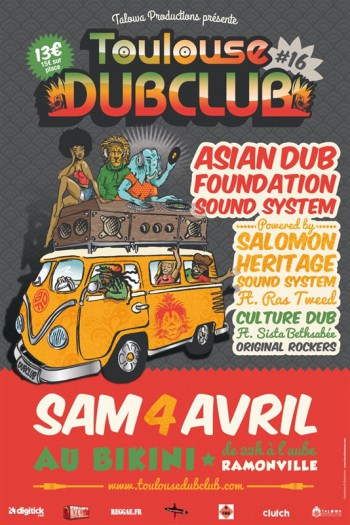 Toulouse Dub Club #16