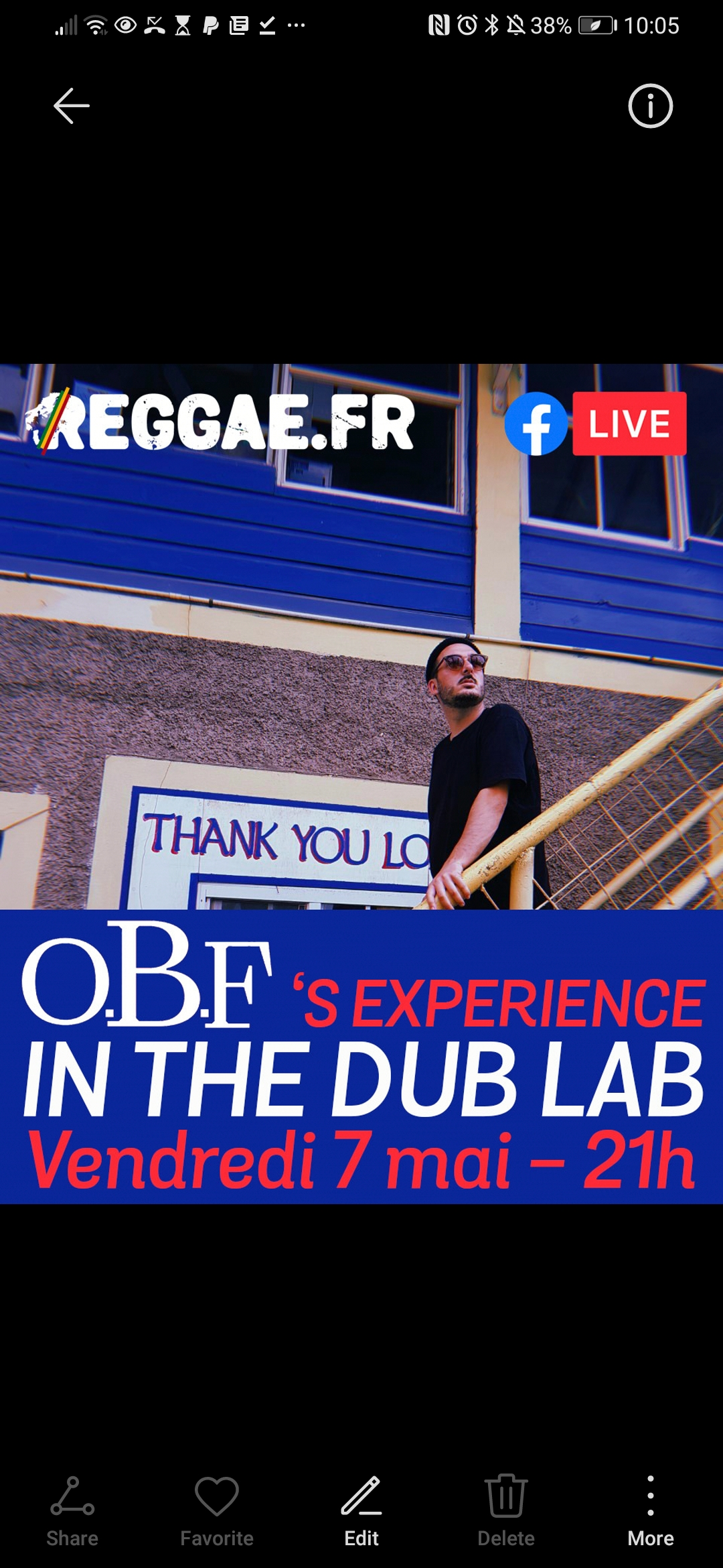 Reggae.fr / in the dub lab with O. B. F