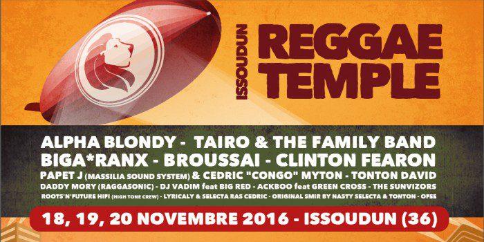 Issoudun Reggae Temple 2016