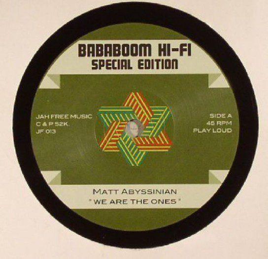 """Badaboum Hi-Fi -7"""" Jah Free Music"""