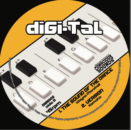 "Kamaha feat. Wayne Marshall & Mikey General - 10"" diGi-Tal"