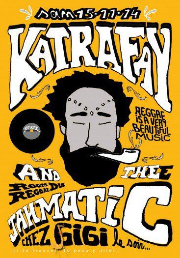 Concert Katrafay & The Jahmatic