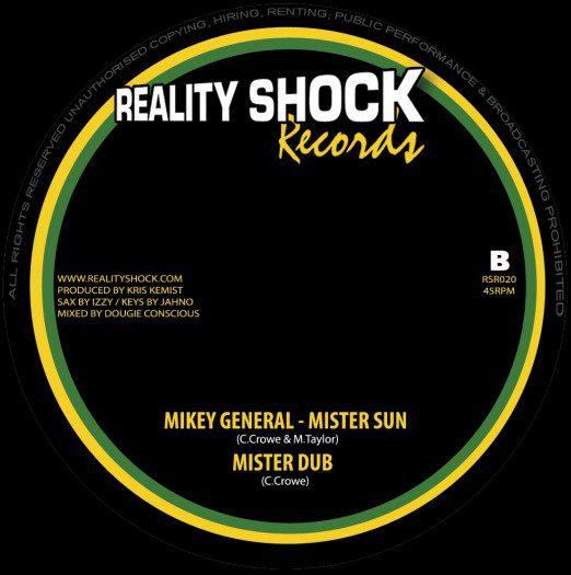 "Know Jah Riddim - 10"" Reality Shock Records"
