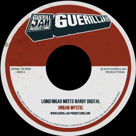 "Longfingah meets Hardy Digital & Maxi Roots - 7"" GuerillJah Productions"