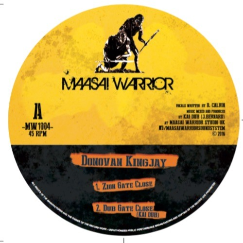 Maasai Warrior feat. Donovan Kingjay - Zion Gate Close