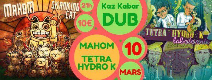 Mahom + Tetra Hydro K @ Kaz kaBar