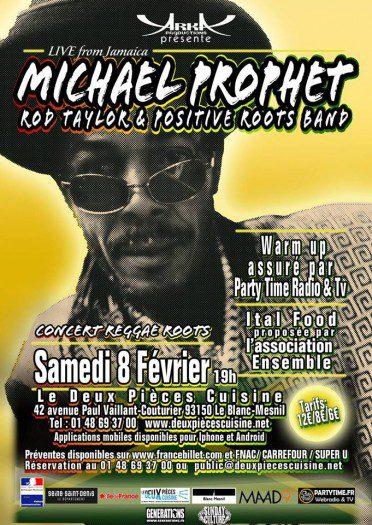 Michael Prophet + Rod Taylor & Positive Roots Band