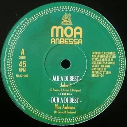 """Moa Anbessa - 12"""" Jah A Di Best"""
