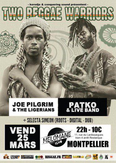 Joe Pilgrim & The Ligerians + Patko