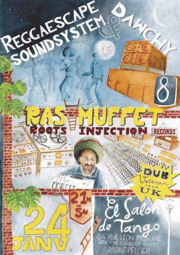 Reggaescape Sound feat. Dawchy meet Ras Muffet