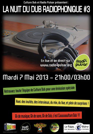 La Nuit du Dub Radiophonique #3