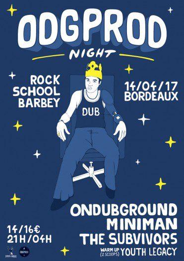ODGProd Night Bordeaux