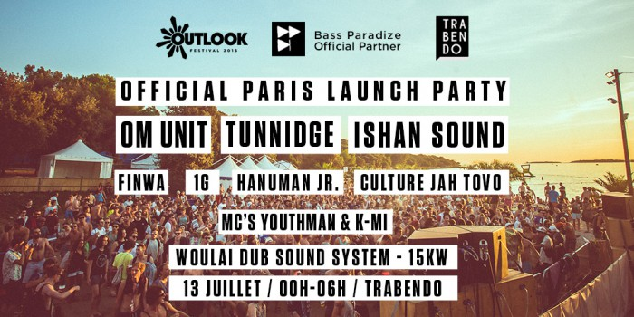 Bass Paradize - Outlook Launch Party 2016