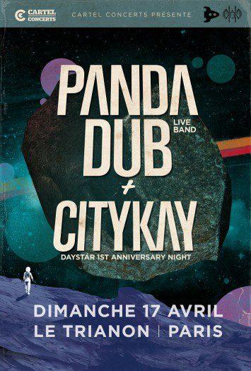 Panda Dub Live Band + City Kay