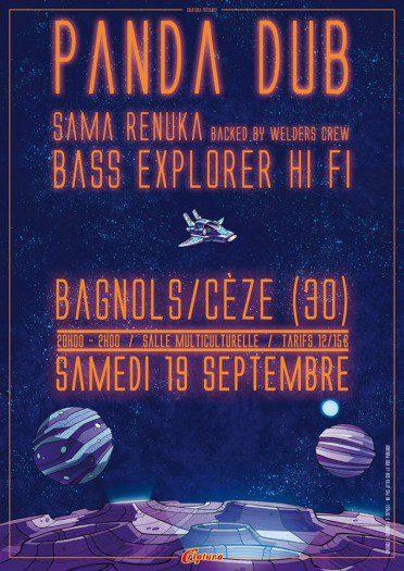 Panda Dub + Sama Renuka & Welders + Bass Explorer Hifi