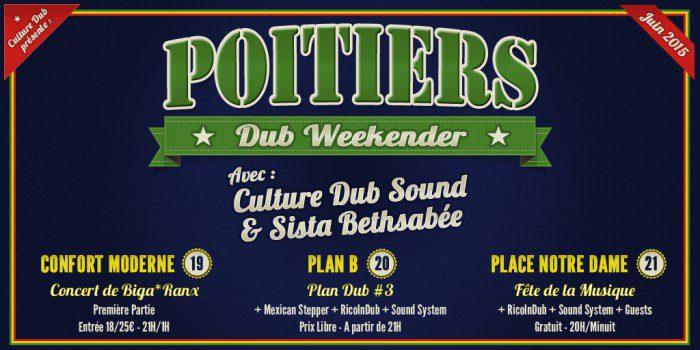 Poitiers Dub Weekender
