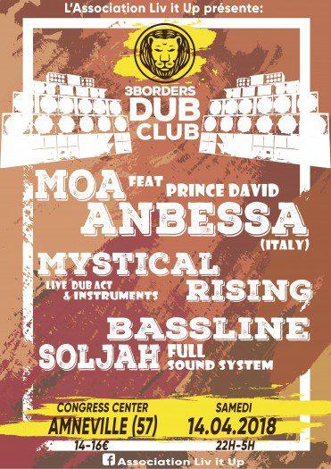 3 Borders Dub Club #1