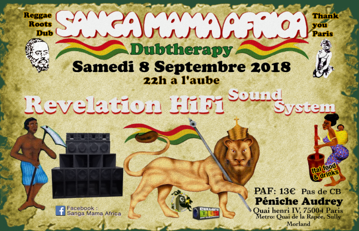 Sanga Mama Africa & Revelation Hi fi Sound System