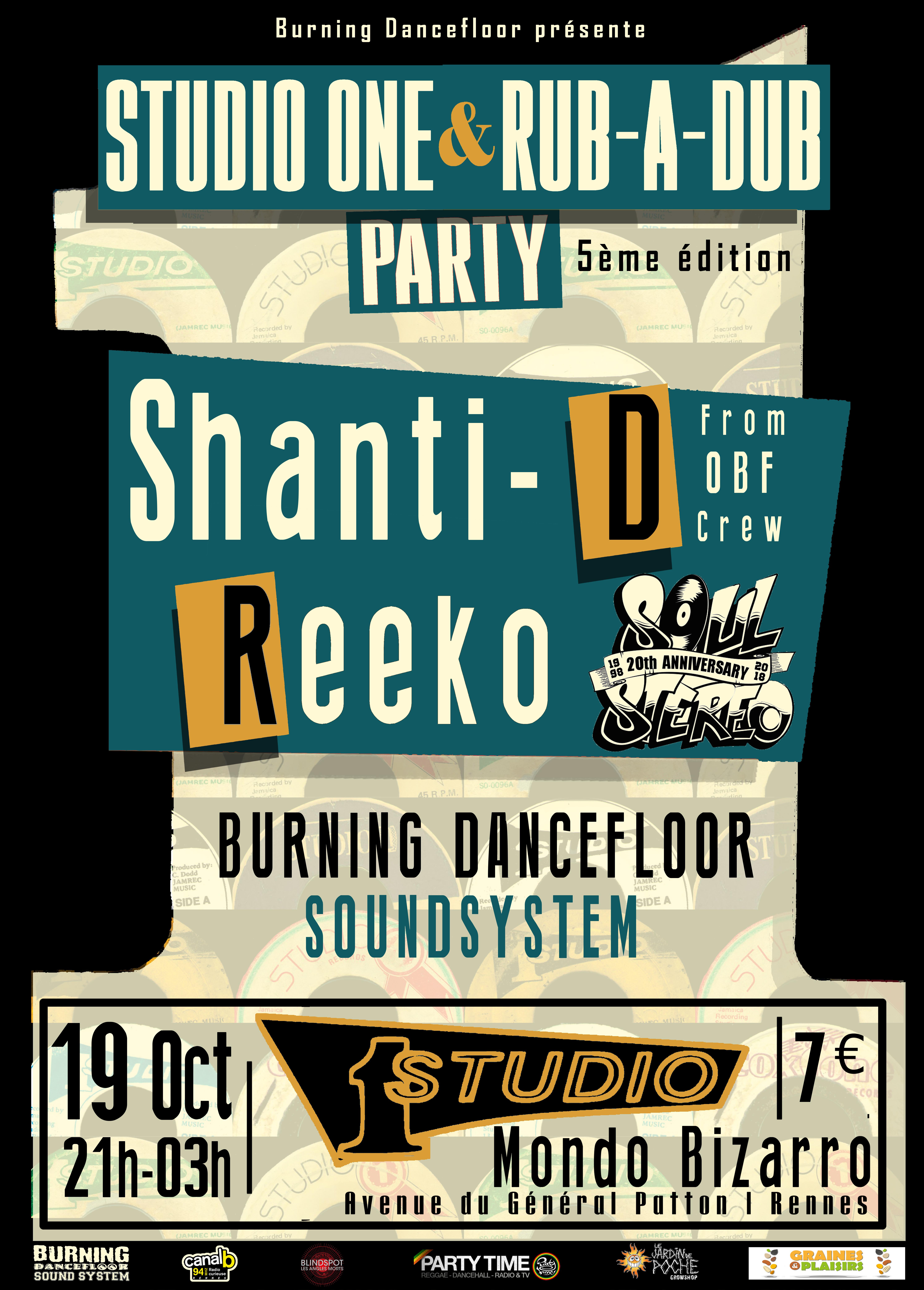 Studio 1 & Rub A Dub Party #5
