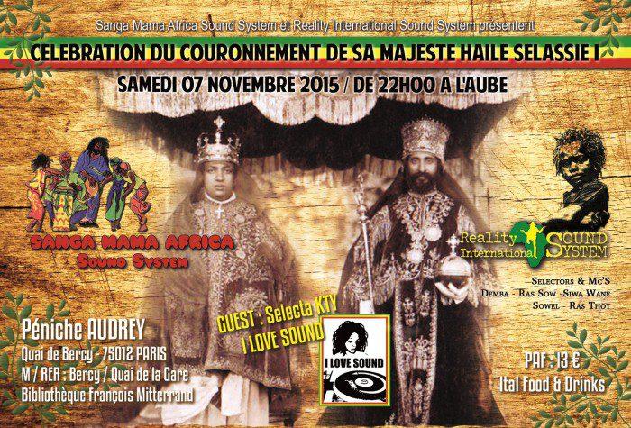 Célébration du Couronnement de Ras Tafari