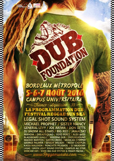 Reggae Sun Ska - Dub Foundation 2016