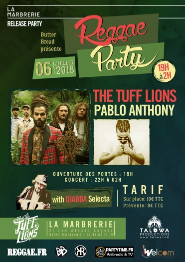 The Tuff Lions + Pablo Anthony & Djabba Selecta