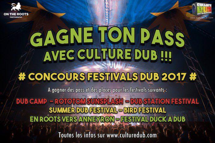 Concours Festival Dub 2017