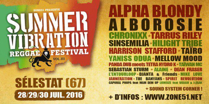 Summer Vibrations 2016