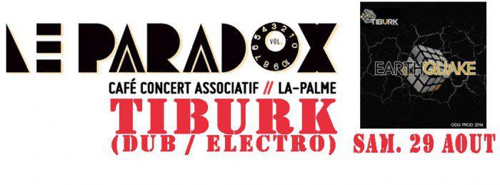 Tiburk @ Le Paradox