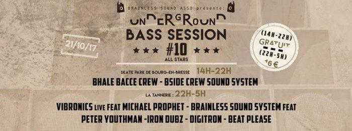 Underground Bass Session #10 – Brainless 5 Years
