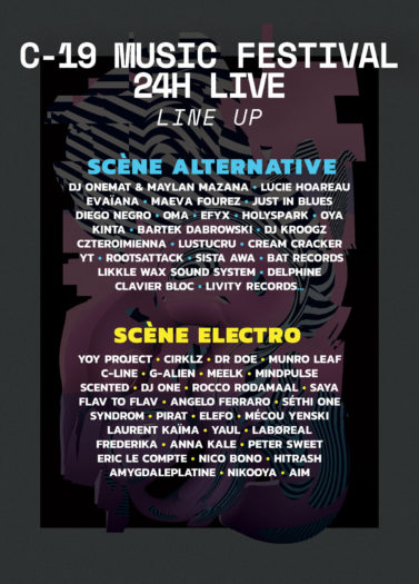 C-19 Music Festival – 24h live