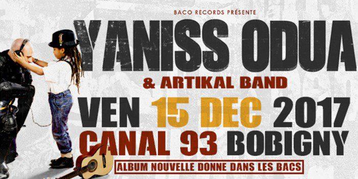 Yaniss Odua & Artikal Band en concert
