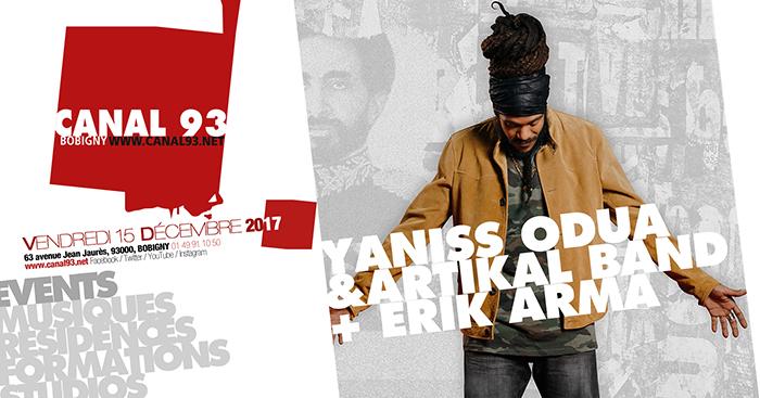 Yaniss Odua & Artikal Band + Erik Arma